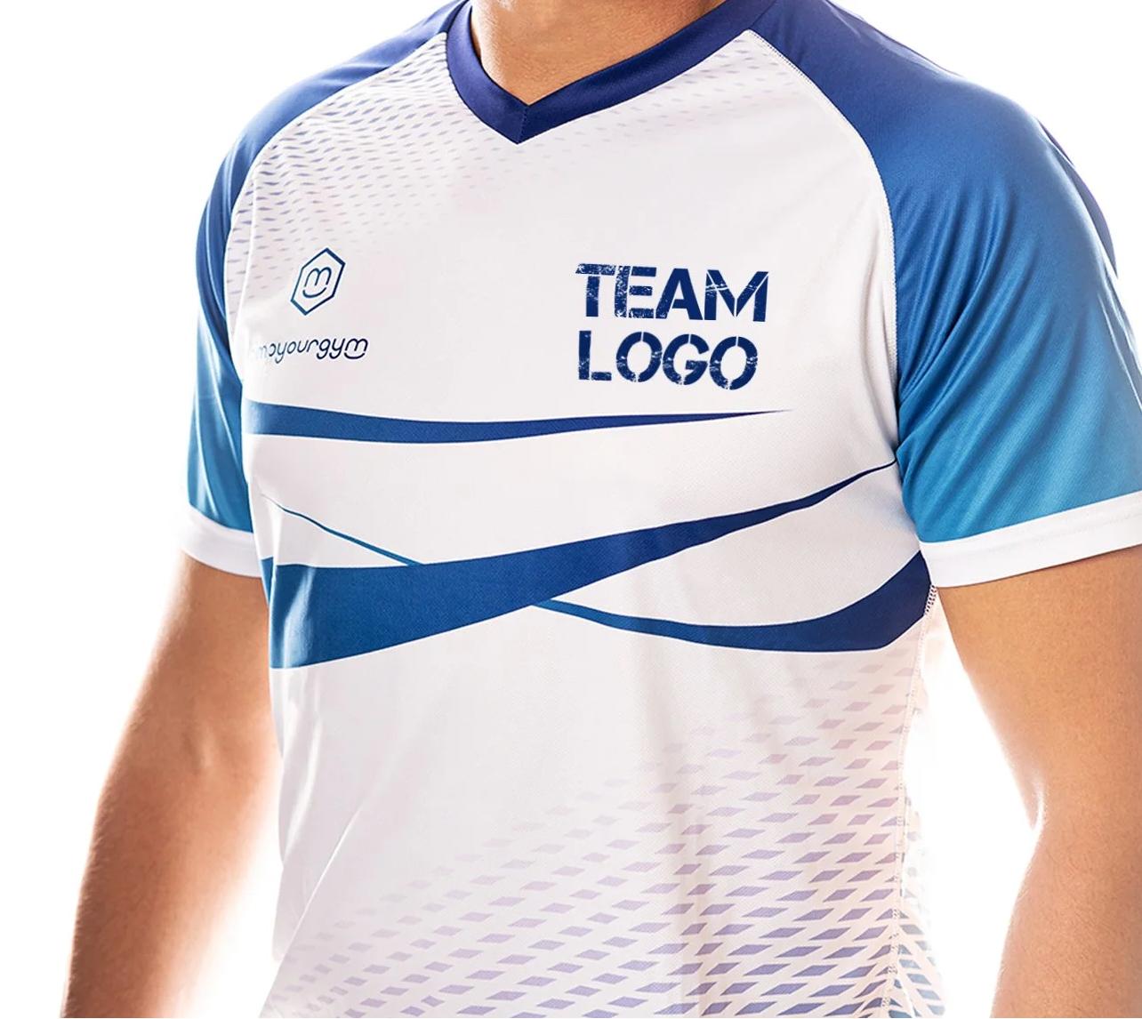 Personalisierte Team Trikots für Vereine und Freizeitmannschaften mit eigenem Logo und Clubdesign